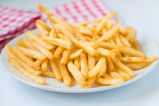 french-fries par les friteuses actifry